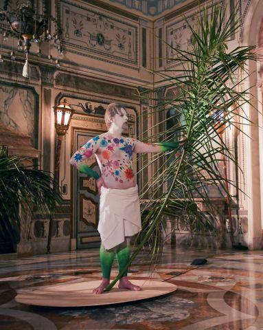 Magnús, Sigurðarson, Rotating Renaissance Man, Vizcaya Museum & Gardens, Miami, 2015
