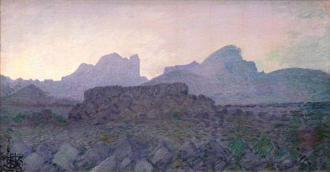 Jóhannes S. Kjarval, Mt. Dyrfjöll, 1927.