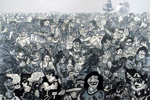 Erró, Wilsonscape,1989.