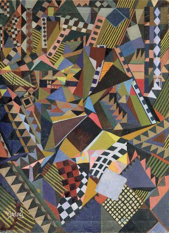 Kjarval, Mynd, 1929, olía á striga.