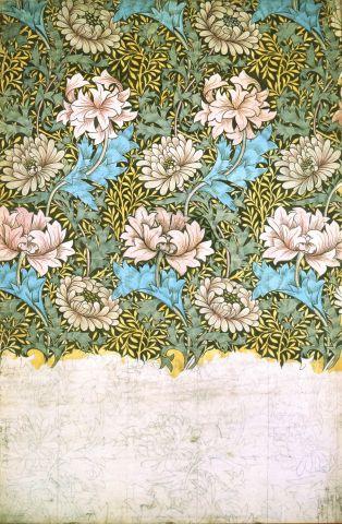 William Morris, Chrisanthemum, William Morris Gallery.