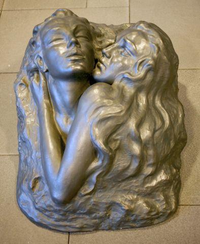 Nína Sæmundsson (1892-1965), Veggmynd – Faðmlag / Relief – Hug, án ártals.