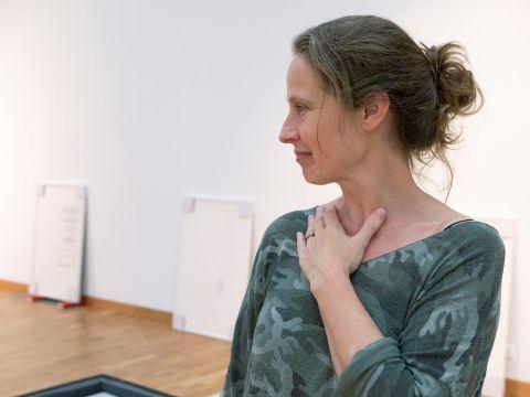 Artist Talk: opus – oups. Photo: Hildur Inga Björnsdóttir.