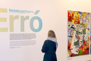 The exhibition More is Beautiful by Erró at Hafnarhús. Photo: Hildur Inga Björnsdóttir.