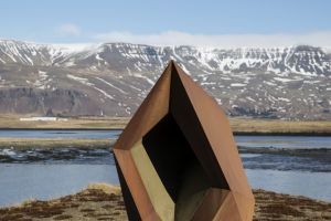 Brynhildur Þorgeirsdóttir: Klettur, 1991.