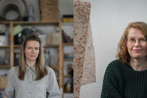 Elín Hansdóttir og Hildigunnur Birgisdóttir