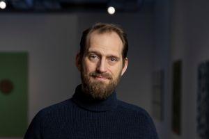 Markús Þór Andrésson sýningarstjóri.