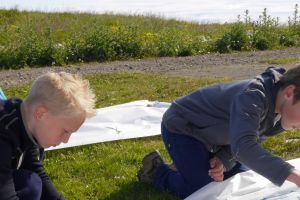Outdoor painting in the spirit of Kjarval and the outdoor works at Klambratún – for 9-11 years old