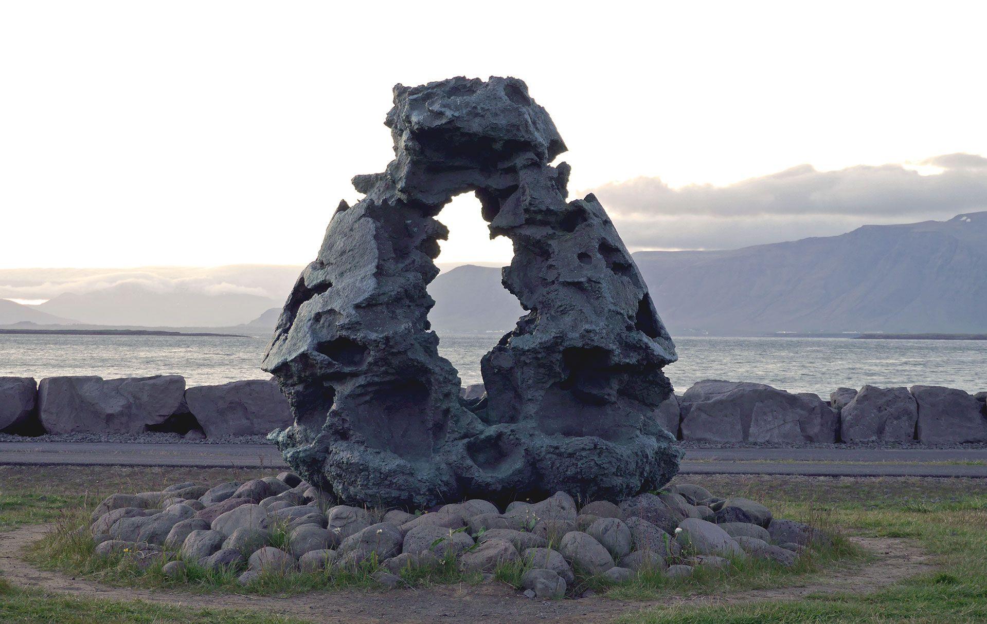 Jóhann Eyfells, Íslandsvarðan, 2003-6. Photo: Hildur Inga Björnsdóttir.