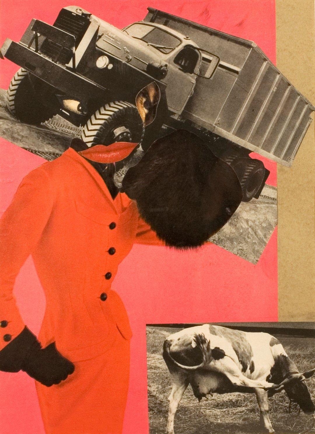 Erró, Untitled, circa 1959, collage.