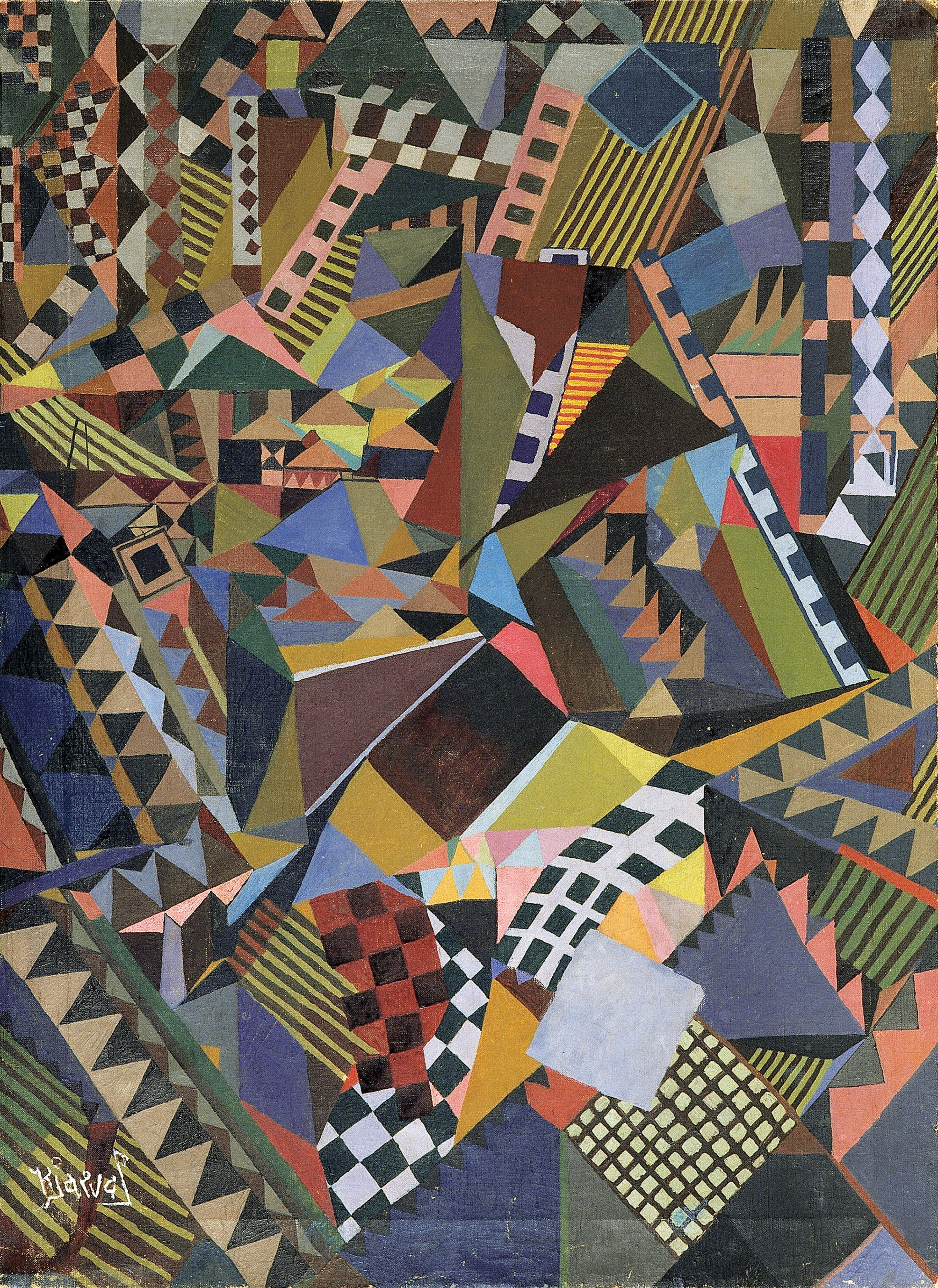 Kjarval, Picture, 1929, oil on canvas.